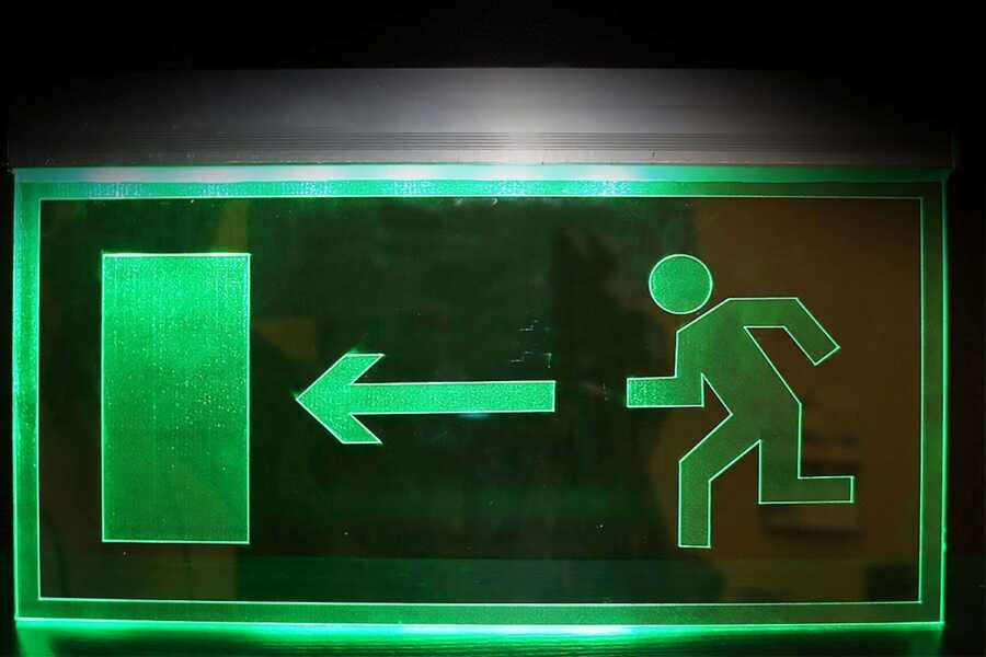 Аварийно-эвакуационные таблички