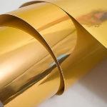 металлизированная пленка золото